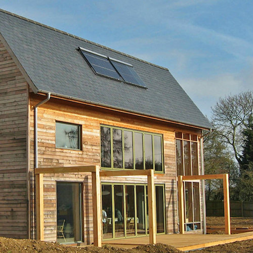Residential timber cladding